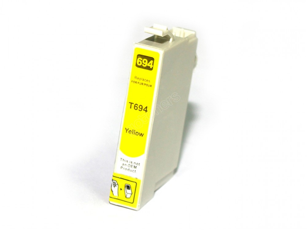 Gotoners™ Epson New Compatible T0694 Yellow Ink Cartridge, Standard Yield