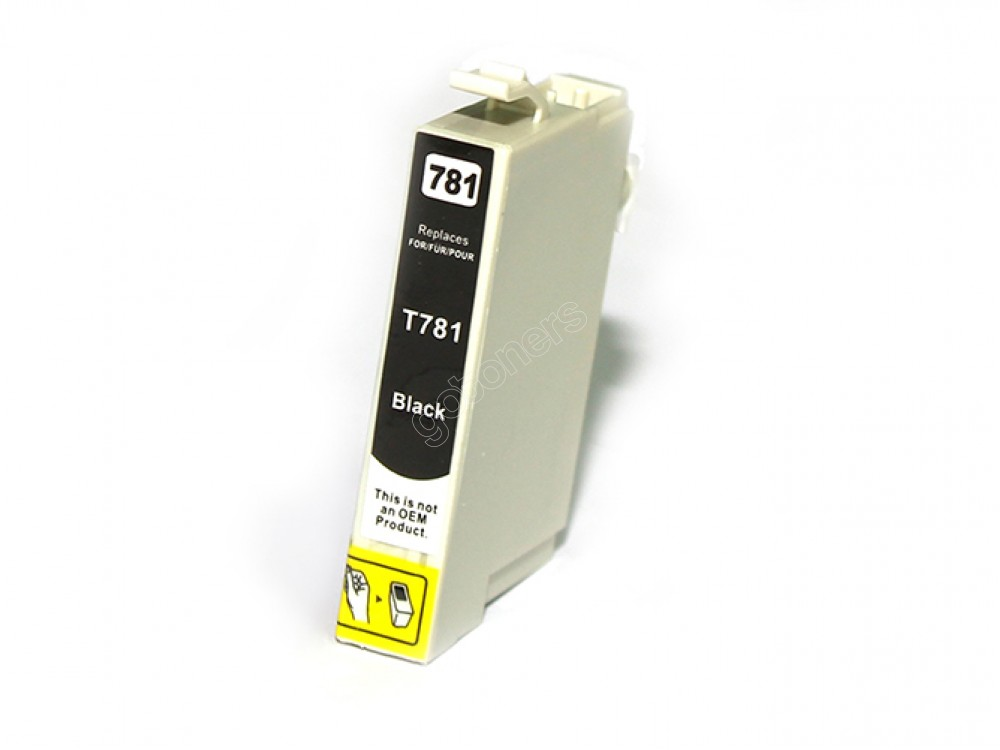 Gotoners™ Epson New Compatible T0781 Black Ink Cartridge, Standard Yield