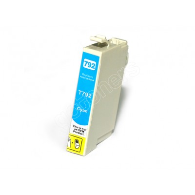 Gotoners™ Epson New Compatible T0792 Cyan Ink Cartridge, Standard Yield