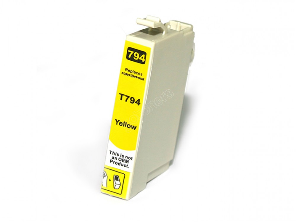 Gotoners™ Epson New Compatible T0794 Yellow Ink Cartridge, Standard Yield