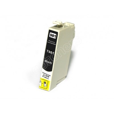 Gotoners™ Epson New Compatible T0981 Black Ink Cartridge, Standard Yield