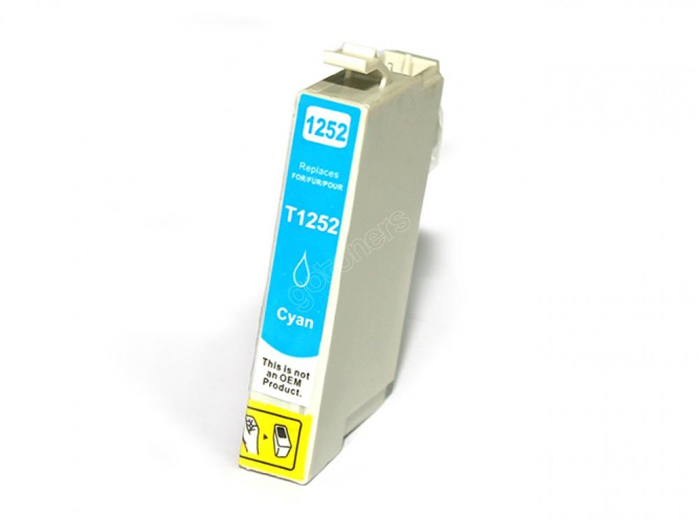 Gotoners™ Epson New Compatible T1252 Cyan Ink Cartridge, Standard Yield