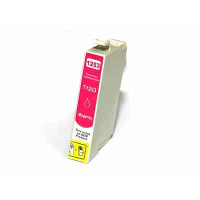 Gotoners™ Epson New Compatible T1253 Magenta Ink Cartridge, Standard Yield