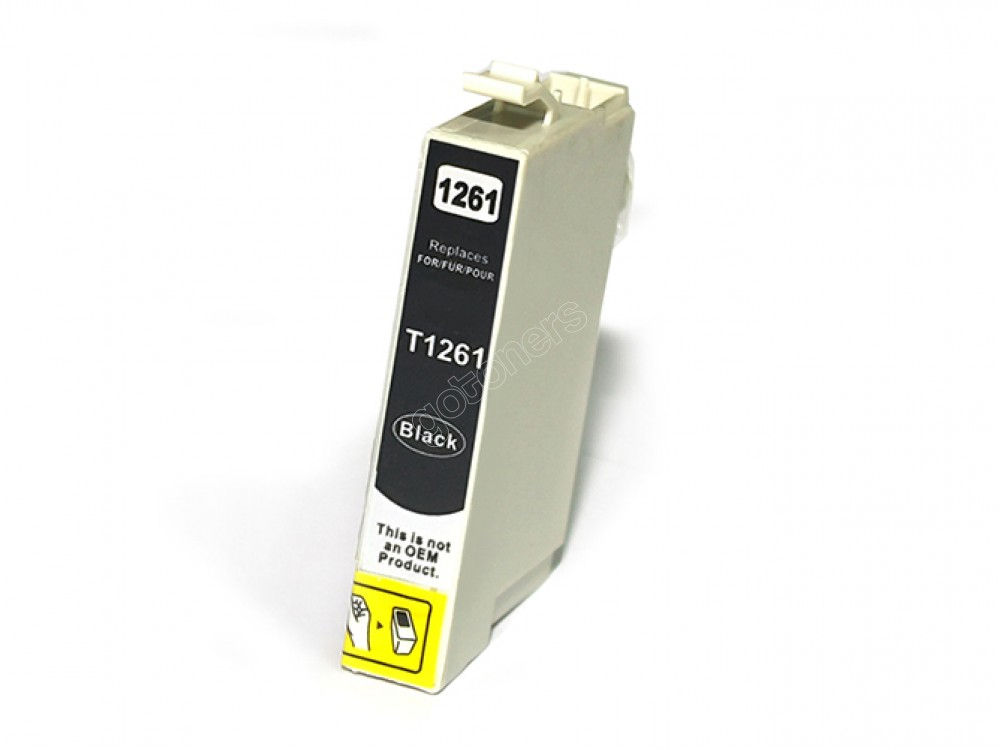 Gotoners™ Epson New Compatible T1261 Black Ink Cartridge, Standard Yield