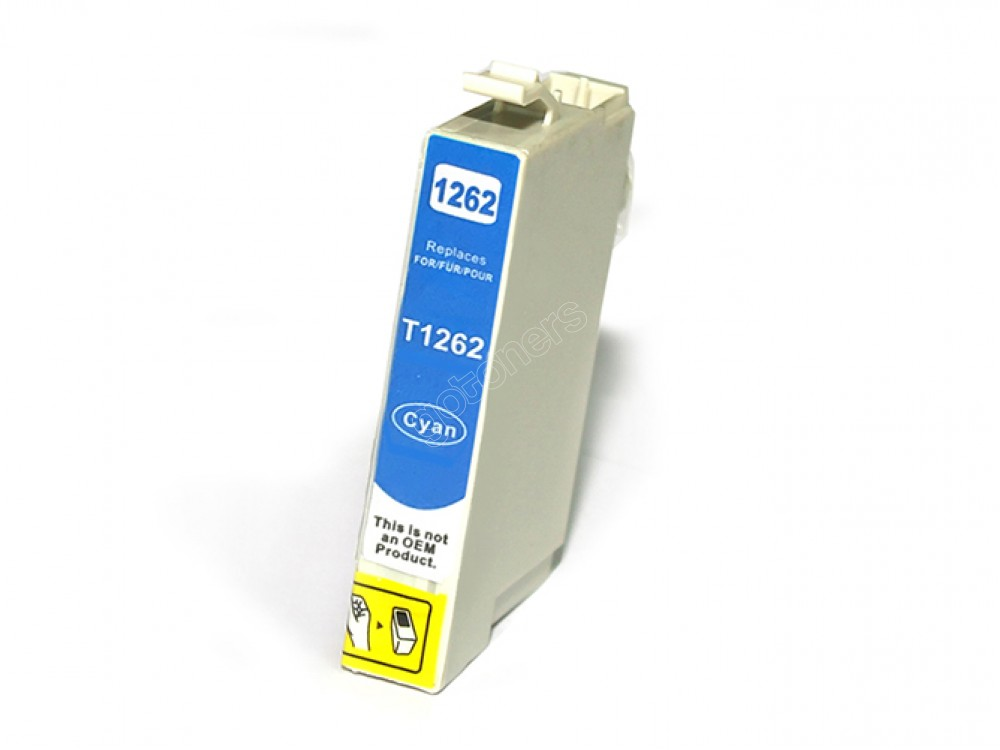Gotoners™ Epson New Compatible T1262 Cyan Ink Cartridge, Standard Yield