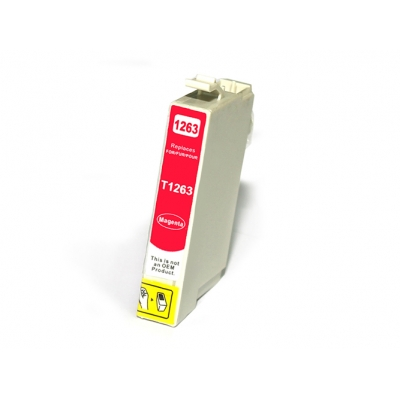 Gotoners™ Epson New Compatible T1263 Magenta Ink Cartridge, Standard Yield