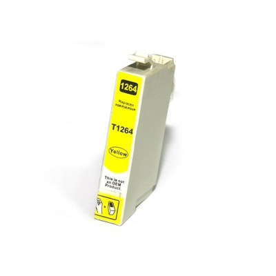 Gotoners™ Epson New Compatible T1264 Yellow Ink Cartridge, Standard Yield