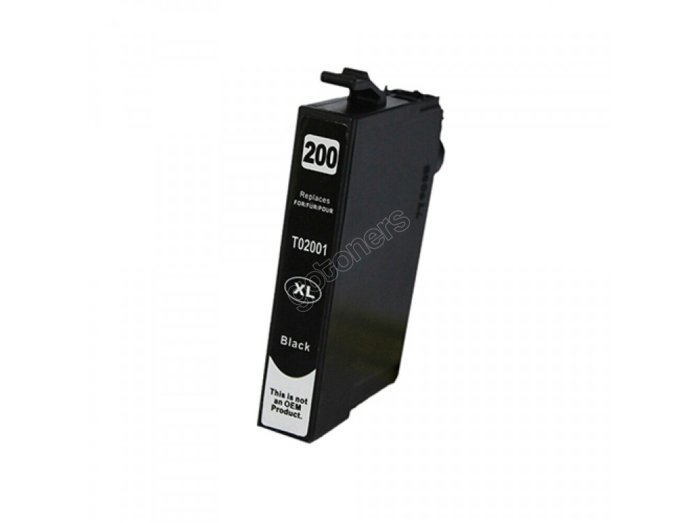 Gotoners™ Epson New Compatible T2001 Black Inkjet Cartridge, High Yield