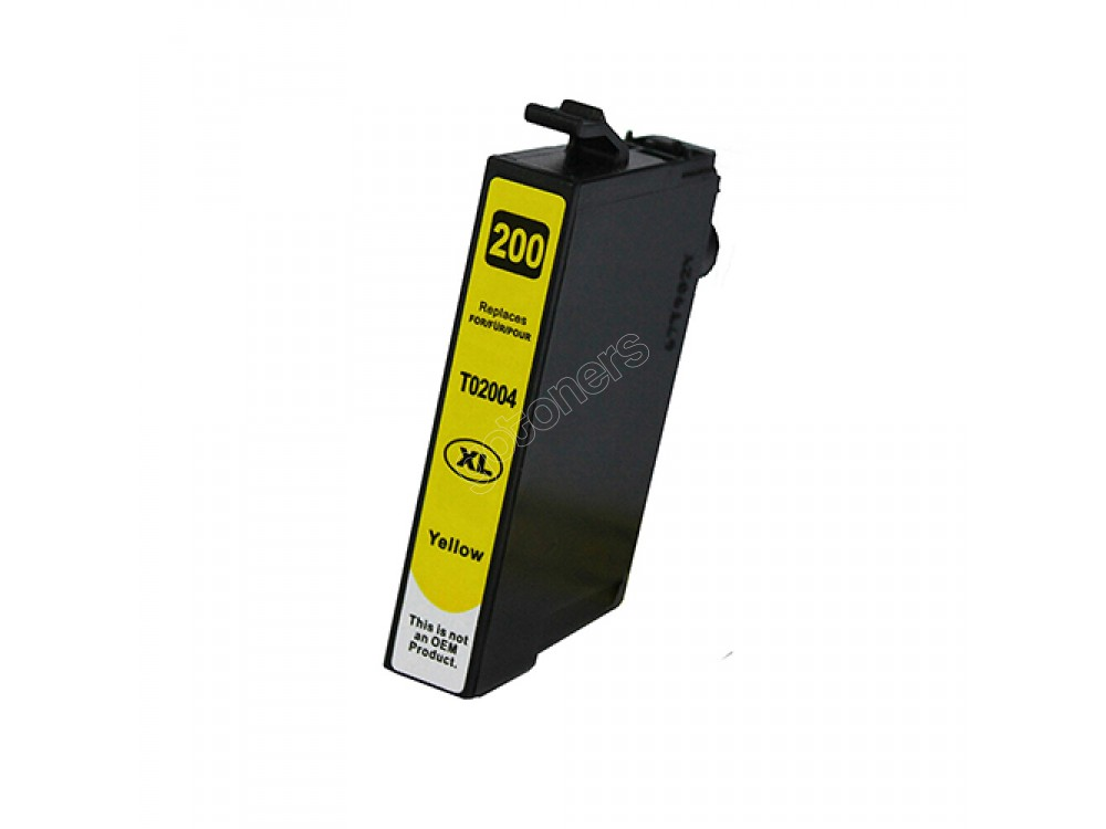 Gotoners™ Epson New Compatible T2004 Yellow Inkjet Cartridge, High Yield