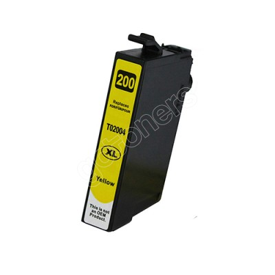 Gotoners™ Epson New Compatible T2004 Yellow Inkjet Cartridge, High Yield
