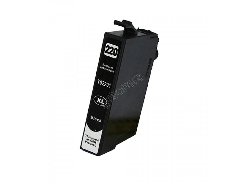 Gotoners™ Epson New Compatible T2201 XL Black Inkjet Cartridge, High Yield