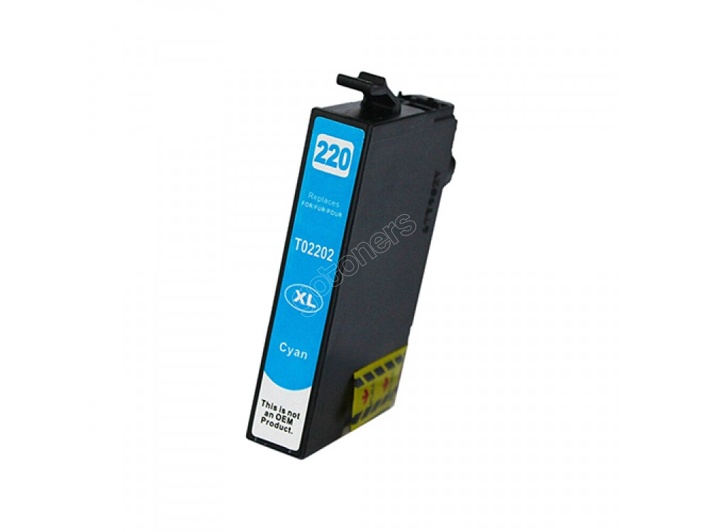 Gotoners™ Epson New Compatible T2202 XL Cyan Inkjet Cartridge, High Yield