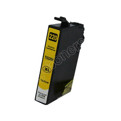 Gotoners™ Epson New Compatible T2204 XL Yellow Inkjet Cartridge, High Yield