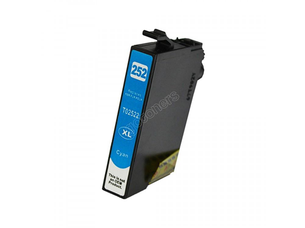 Gotoners™ Epson New Compatible T252C XL Cyan Inkjet Cartridge, High Yield