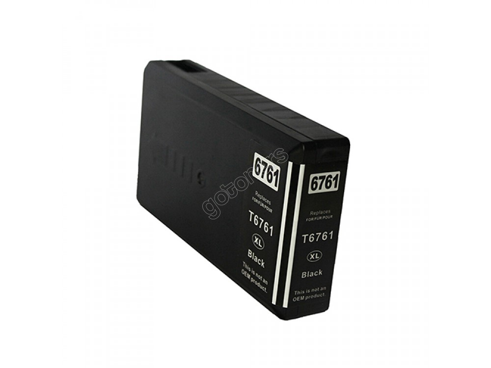 Gotoners™ Epson New Compatible T6761 XL Black Inkjet Cartridge, High Yield