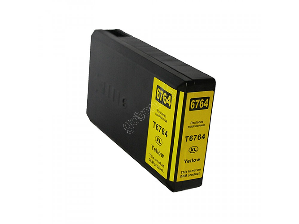 Gotoners™ Epson New Compatible T6764 XL Yellow Inkjet Cartridge, High Yield