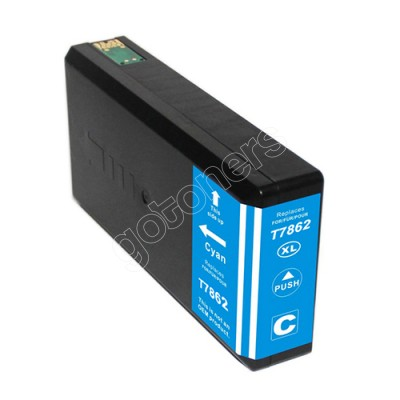 Gotoners™ Epson New Compatible T786XL C (T786XL220) Cyan Inkjet Cartridge, High Yield