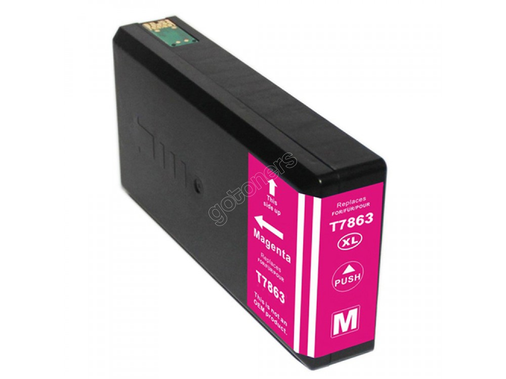 Gotoners™ Epson New Compatible T786XL M (T786XL320) Magenta Inkjet Cartridge, High Yield