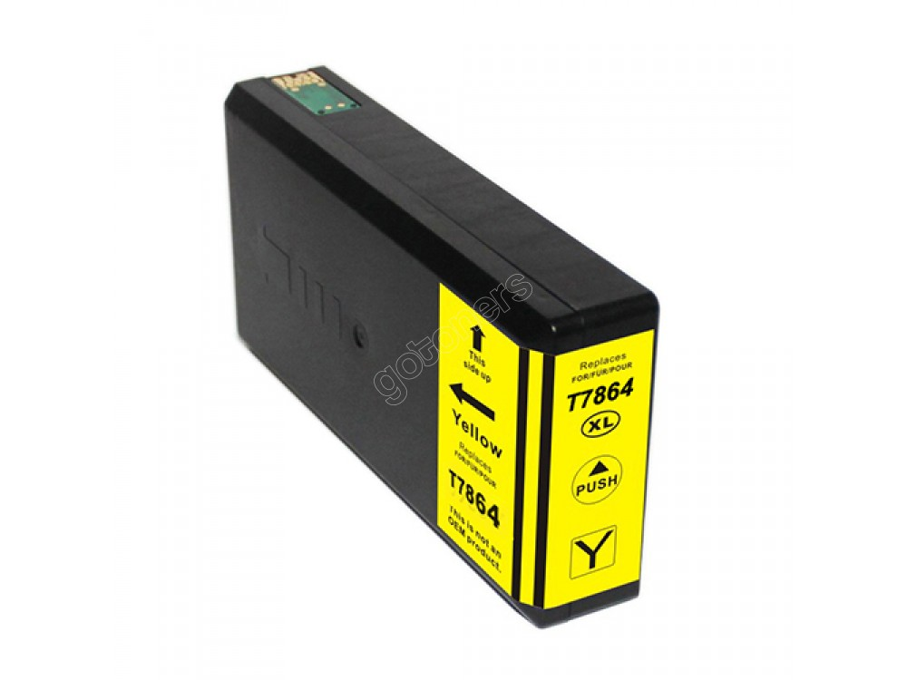 Gotoners™ Epson New Compatible T786XL Y (T786XL420) Yellow Inkjet Cartridge, High Yield