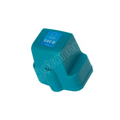 Gotoners™ HP New Compatible 02 C (C8771) Cyan Inkjet Cartridge, High Yield
