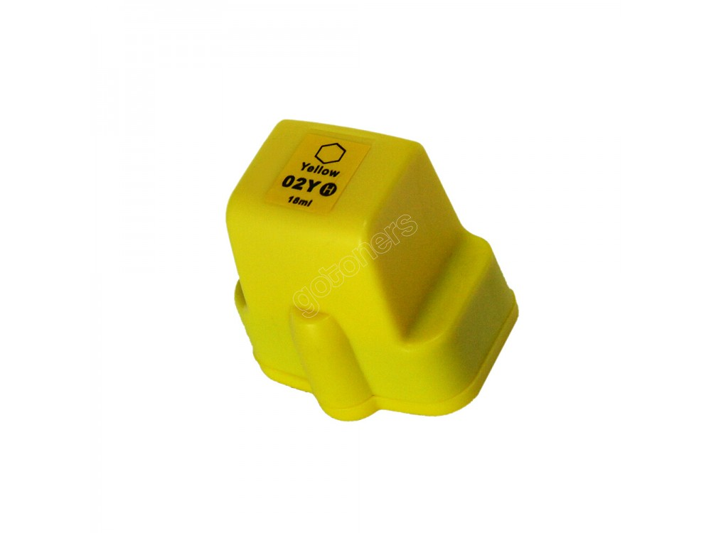 Gotoners™ HP New Compatible 02 Y (C8773) Yellow Inkjet Cartridge, High Yield