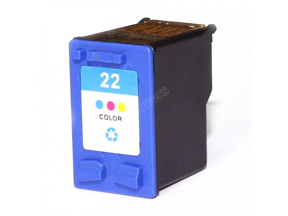 Gotoners™ HP Compatible 22 (C9352A) Tri-Color Remanufactured Inkjet Cartridge, Standard Yield