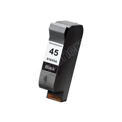 Gotoners™ HP Compatible 45 (51645A) Black Remanufactured Inkjet Cartridge, Standard Yield