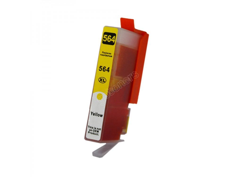 Gotoners™ HP New Compatible 564XL Y (CB325W) Yellow Inkjet Cartridge, High Yield