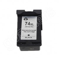 Gotoners™ HP Compatible 74XL BK (CB336WN) Black Remanufactured Inkjet Cartridge, High Yield