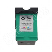 Gotoners™ HP Compatible 75XL C (CB338WN) Tri-Color Remanufactured Inkjet Cartridge, High Yield
