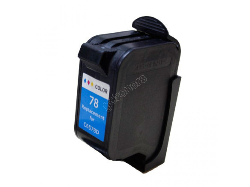 Gotoners™ HP Compatible 78 (C6578D)  Tri-Color Remanufactured Inkjet Cartridge, Standard Yield