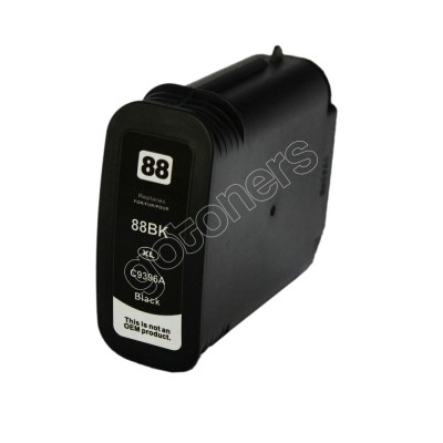 Gotoners™ HP Compatible 88XL BK (C9396AN) Black Remanufactured Inkjet Cartridge, High Yield