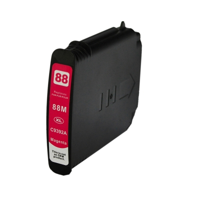 Gotoners™ HP Compatible 88XL M (C9392AN) Magenta Remanufactured Inkjet Cartridge, High Yield