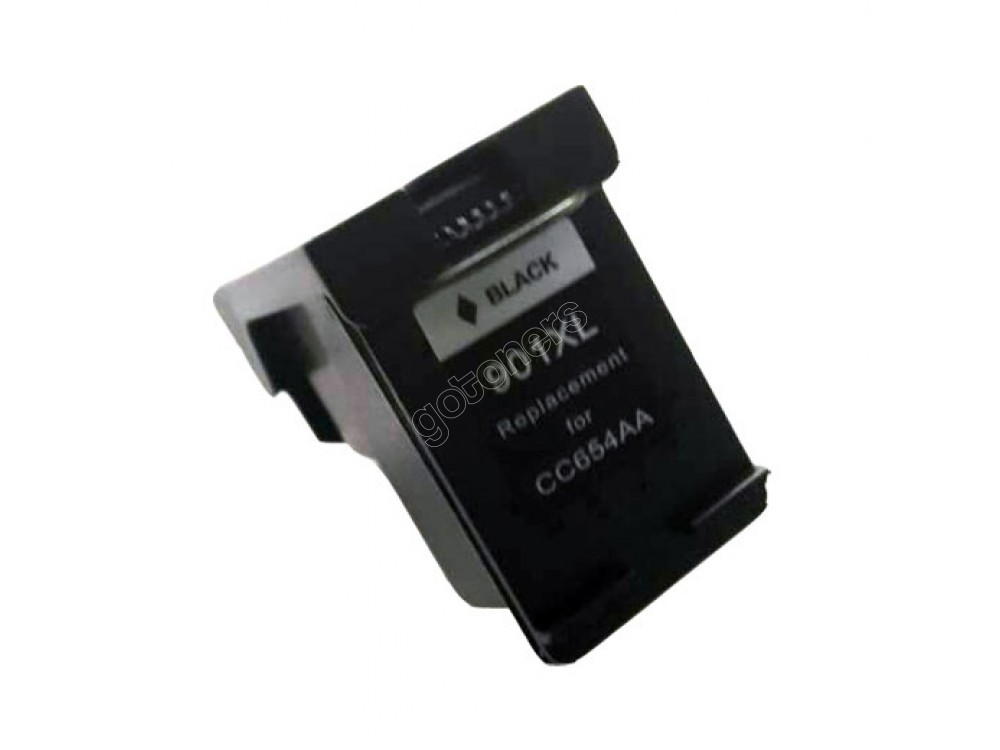 Gotoners™ HP Compatible 901XL BK (CC654A) Black Remanufactured Inkjet Cartridge, High Yield