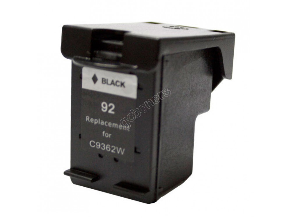 Gotoners™ HP Compatible 92 (C9362W) Black Remanufactured Inkjet Cartridge, Standard Yield