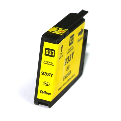 Gotoners™ HP New Compatible 933XL Y (CN056AN) Yellow Inkjet Cartridge, High Yield