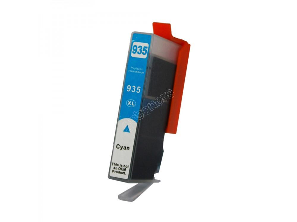 Gotoners™ HP New Compatible 935XL C (C2P24AN) Cyan Inkjet Cartridge, High Yield