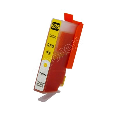 Gotoners™ HP New Compatible 935XL Y (C2P26AN) Yellow Inkjet Cartridge, High Yield