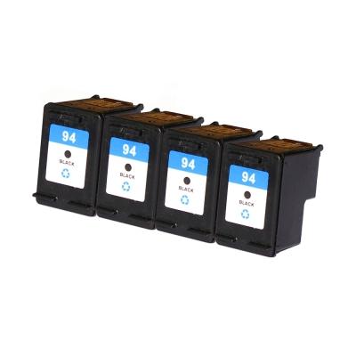 Gotoners™ HP Compatible 94 (C8765W) Black Remanufactured Inkjet Cartridge, Standard Yield, 4 Pack