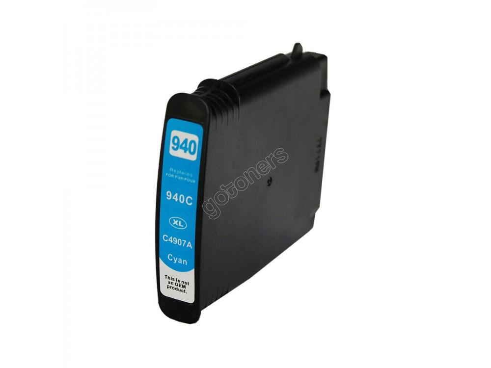 Gotoners™ HP New Compatible 940XL C (C4907AN) Cyan Inkjet Cartridge, High Yield