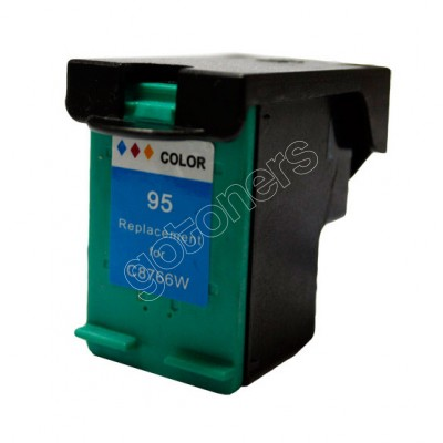 Gotoners™ HP Compatible 95 (C8766W) Tri-Color Remanufactured Inkjet Cartridge, Standard Yield
