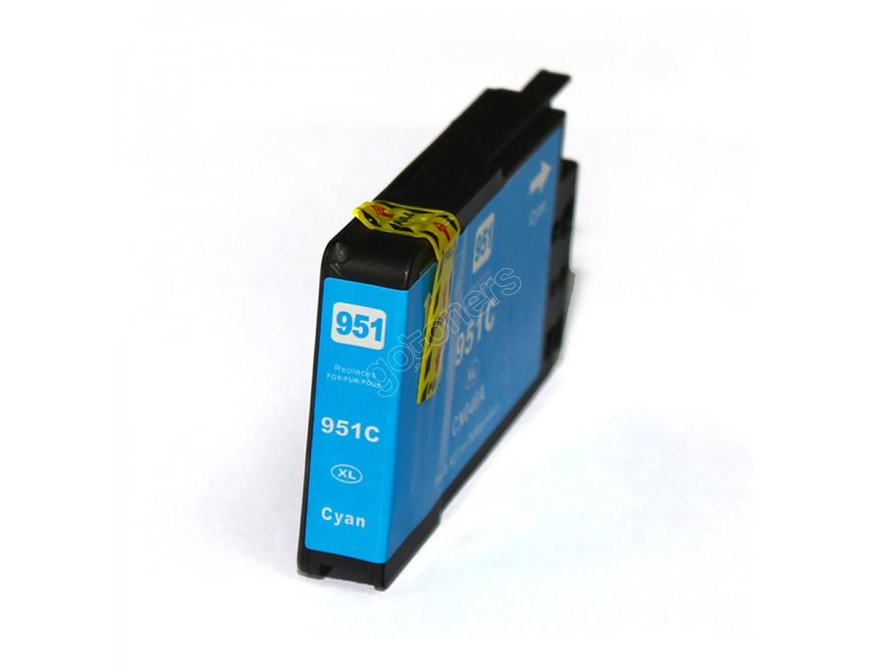 Gotoners™ HP New Compatible 951XL C (CN046AN) Cyan Inkjet Cartridge, High Yield