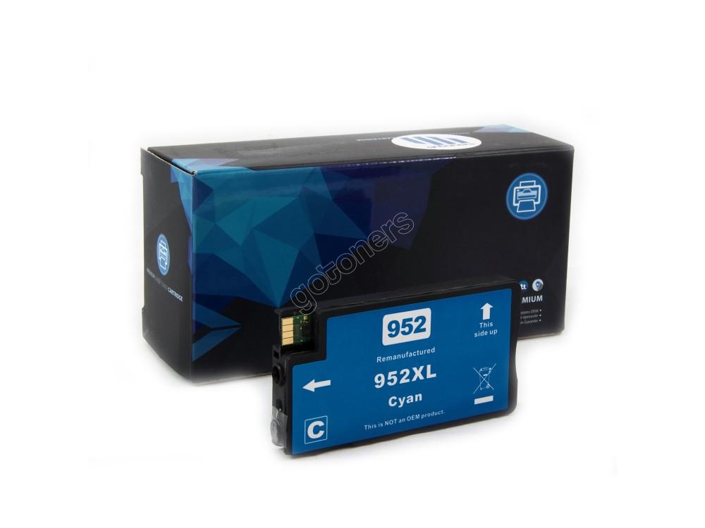 Gotoners™ HP New Compatible 952XL C (L0S61AN) Cyan Ink Cartridge, High Yield