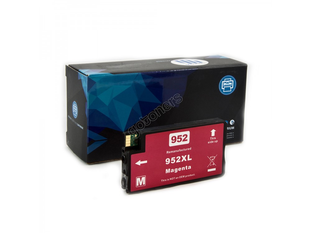 Gotoners™ HP New Compatible 952XL M (L0S64AN) Magenta Ink Cartridge, High Yield
