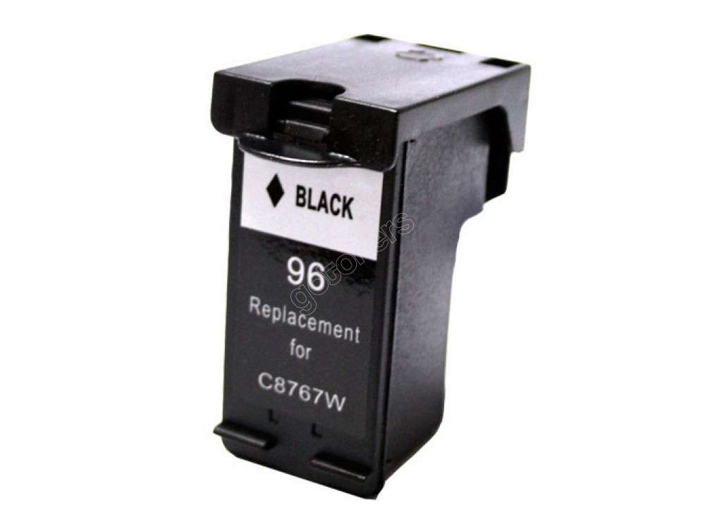 Gotoners™ HP Compatible 96 (C8767W) Black Remanufactured Inkjet Cartridge, Standard Yield