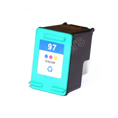 Gotoners™ HP Compatible 97 (C9363W) Tri-Color Remanufactured Inkjet Cartridge, Standard Yield