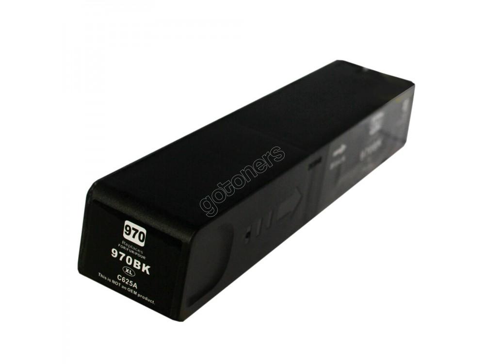 Gotoners™ HP New Compatible 970XL BK (CN625AA) Black Inkjet Cartridge, High Yield