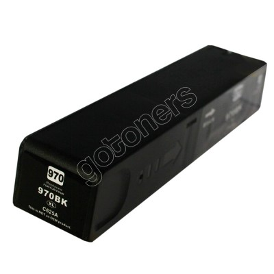 Gotoners™ HP New Compatible 970XL BK (CN625AA) Black Inkjet Cartridge, High Yield