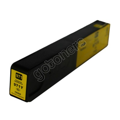 Gotoners™ HP New Compatible 971XL Y (CN628AA) Yellow Inkjet Cartridge, High Yield
