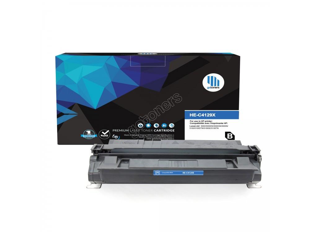 Gotoners™ HP Compatible C4129X (29X) Black Remanufactured Toner , Standard Yield